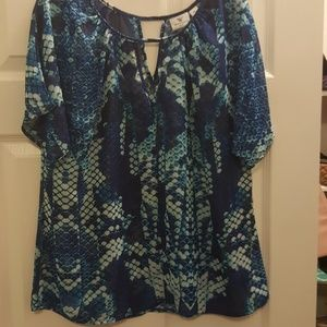 Beautiful snake print top